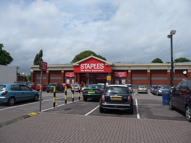 Exeter : Staples, The Office Superstore
