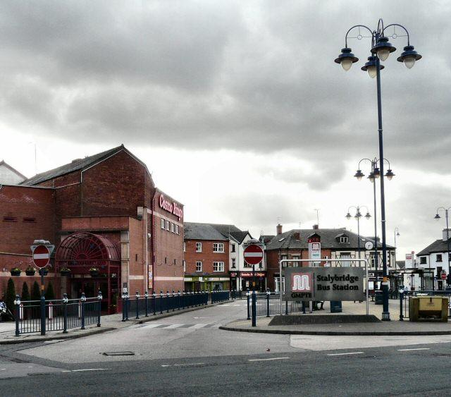 Bus Station and Bingo Hall