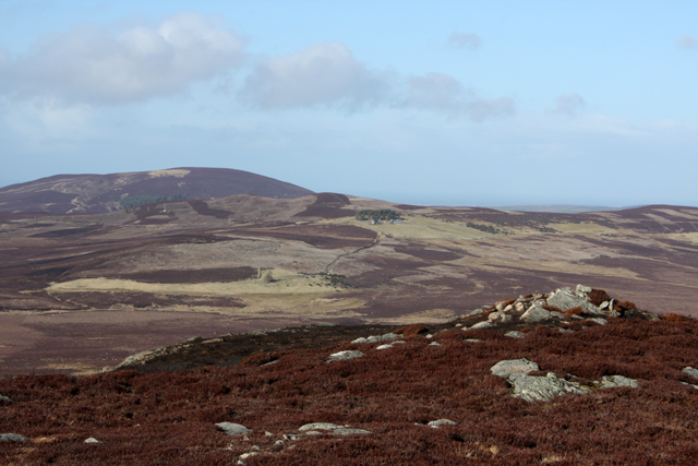 View north from Carn na Glaisneach