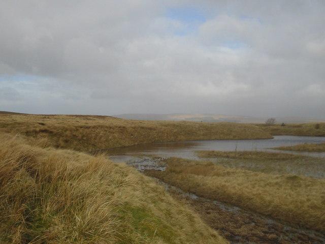 Small loch, Dalfad Moss