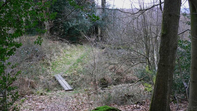 Footbridge on Older Hill