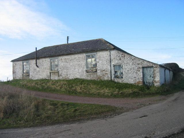 Old workshop at Whinnyrig