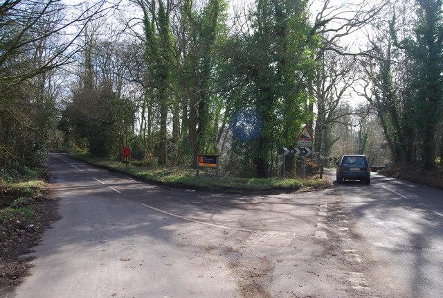 Stoner Hill Rd, Cockshott Lane junction