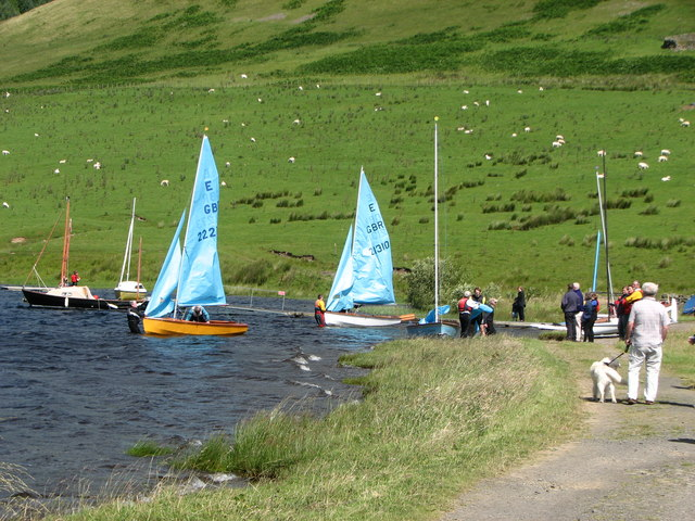 St Mary's Loch sailing club