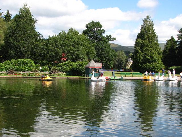 Boating Pond Moffat