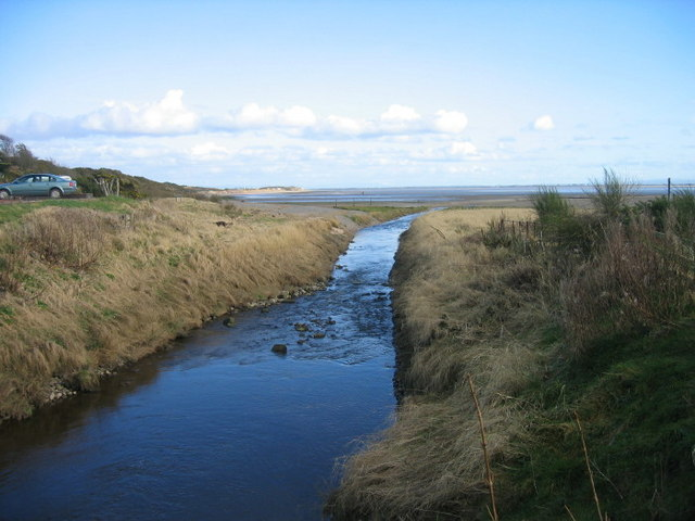 Pow Water meets The Solway