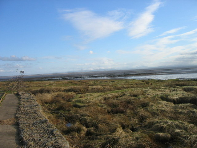 The Solway from Powfoot Hotel
