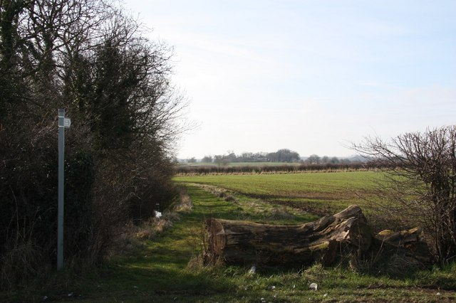 Brackenborough footpath