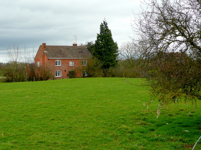 House next to the Leadon watermill