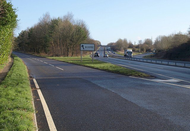 Junction on A38, Ashburton