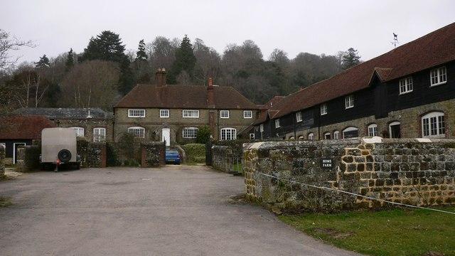 Home Farm near Hollycombe