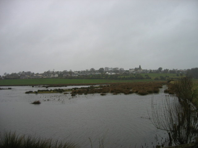 Wigtown from bird hide