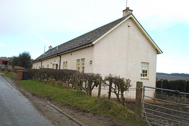 Cottages near South Mains farm