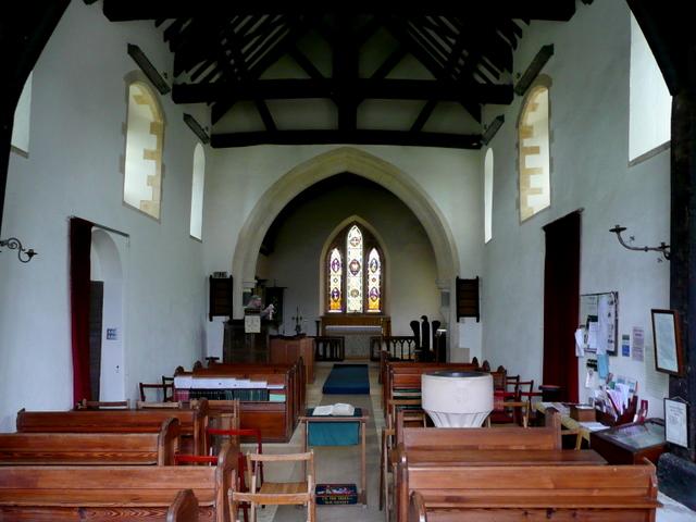 St. Mary's church, Upleadon - interior