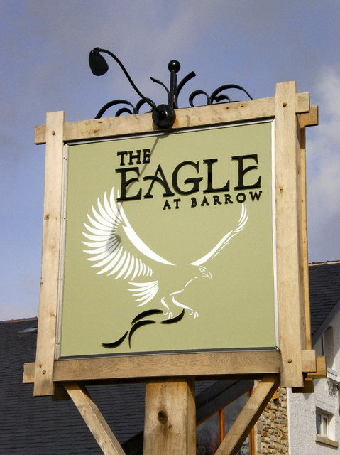 The Eagle at Barrow, Sign