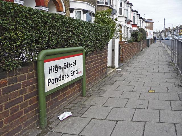 High Street, Ponders End