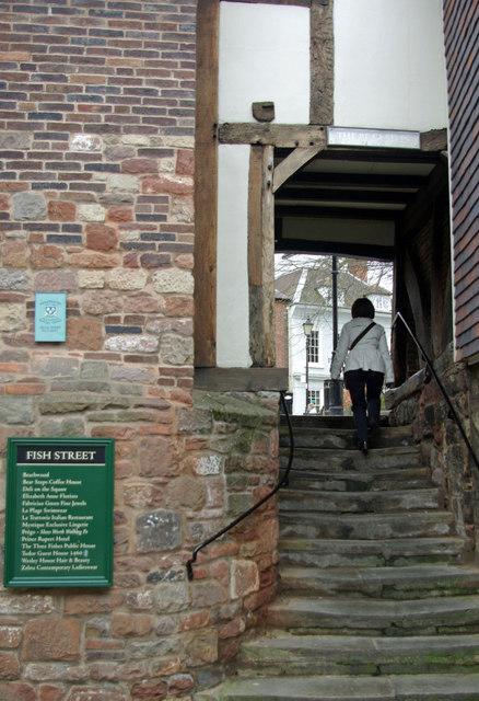 The Bear Steps, Shrewsbury