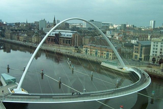 Millennium Bridge Gateshead.
