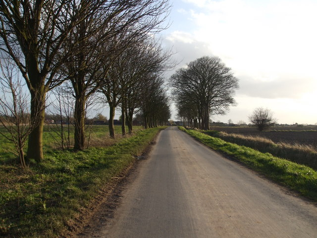 Brewery Road  into Crowle