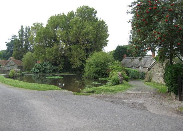 Village pond at East Quantoxhead
