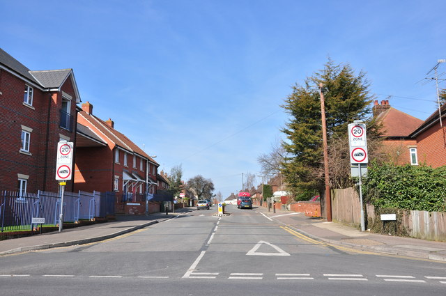 Goring Road from Harwich Road