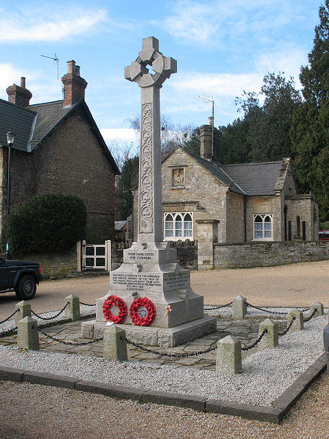 Turvey village war memorial