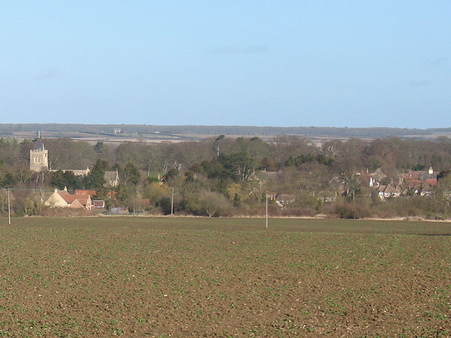 View of Turvey village from the South