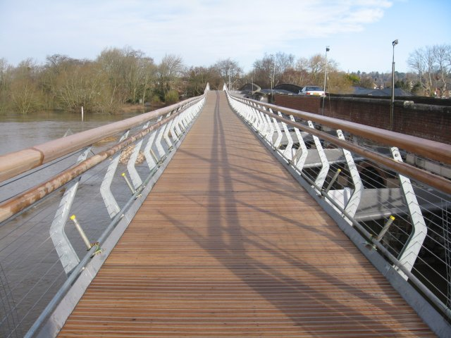 New Canford footbridge, Wimborne
