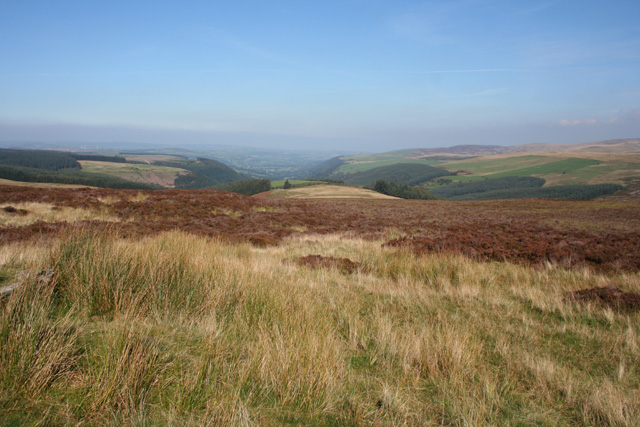 View towards Cwm Pennant