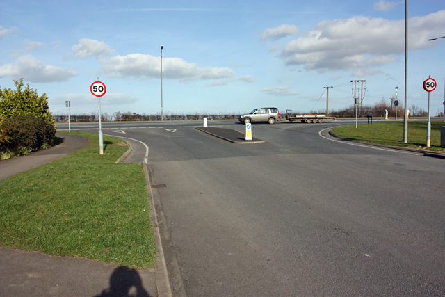 Junction with the A1035 Beverley Bypass