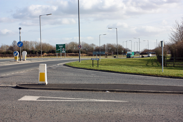 A174 to Swine Moor Roundabout