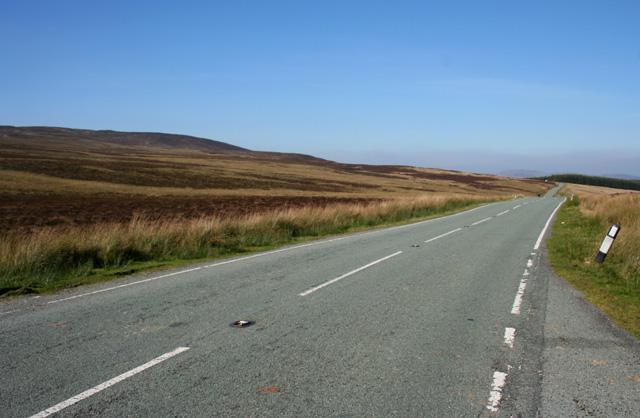B4391 road near Milltir Gerrig