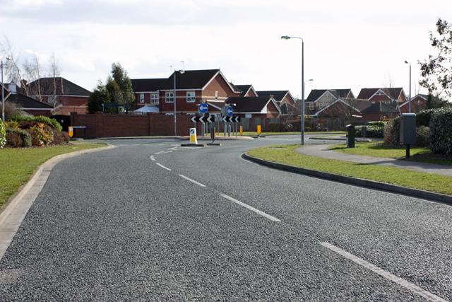Hambling Drive - Nornabell Drive roundabout