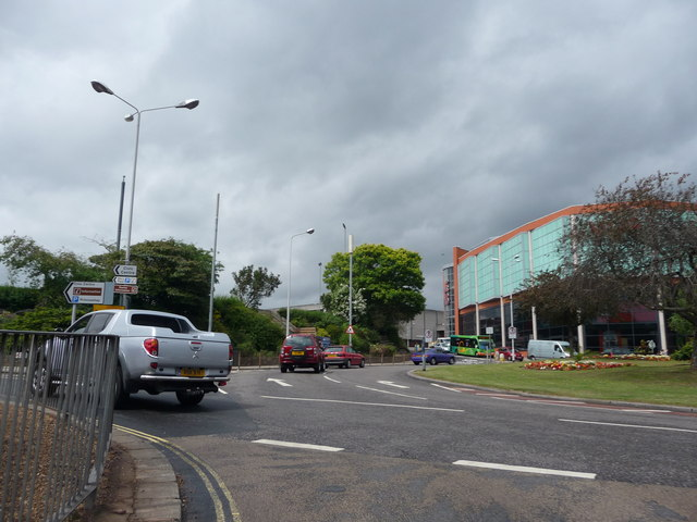 Exeter : Western Way Roundabout