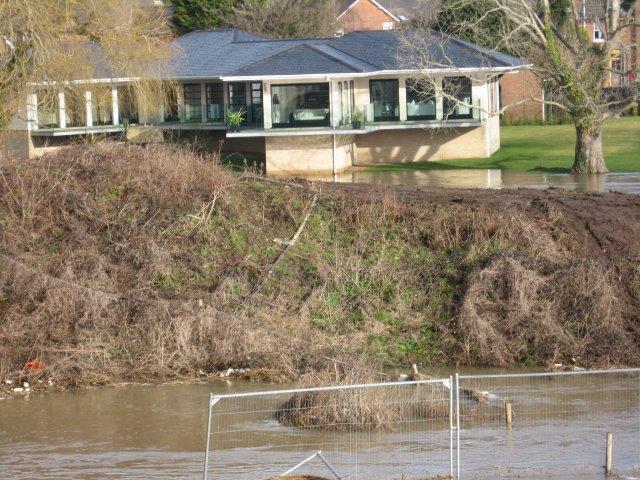 House near the Stour, Canford Bridge