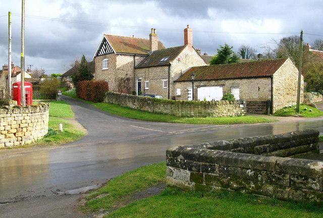 Barton-le-Street Village