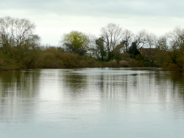 The placid River Severn