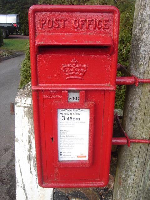 Scottish Crown EIIR Lamp Box