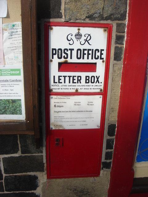 George VI Ludlow Post Box TD3