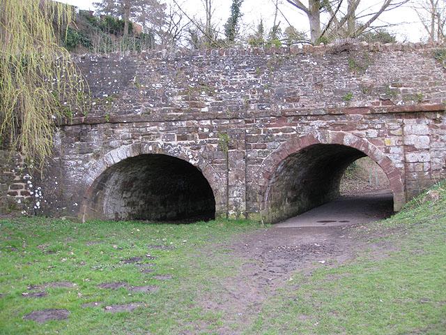 Tunnels under Wilton Road
