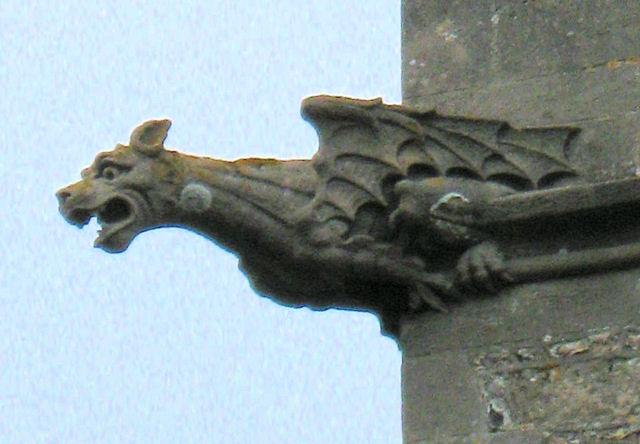 Gargoyle on Church Tower, Buckland