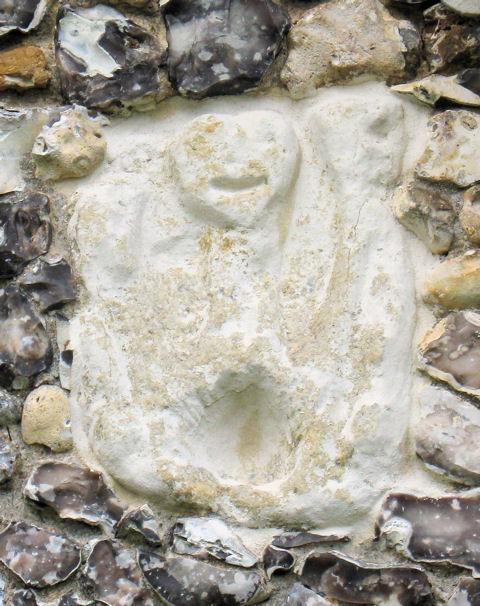 Sheela Na Gig carving