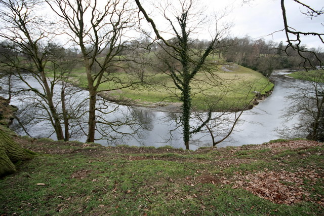 Round the Bend in Levens Park