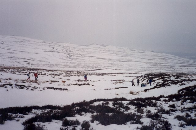 Between Lair, Glen Shee, and Kirkmichael on a Duke of Edinburgh practice expedition