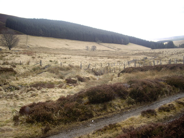 View SE from a moorland track