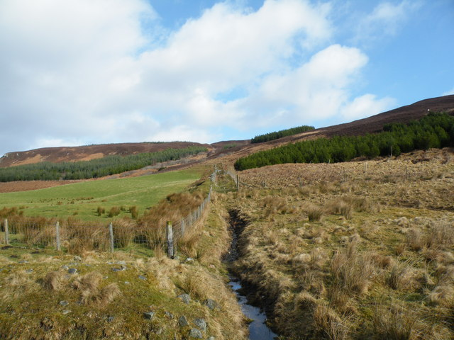 Small Tributary coming down from Cnoc na Feadaige