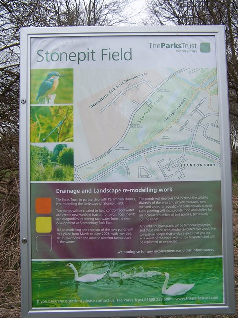 Stonepit Field notice
