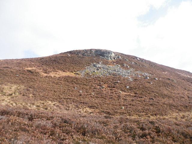 Greagan Mora Moorland above  Achormlarie