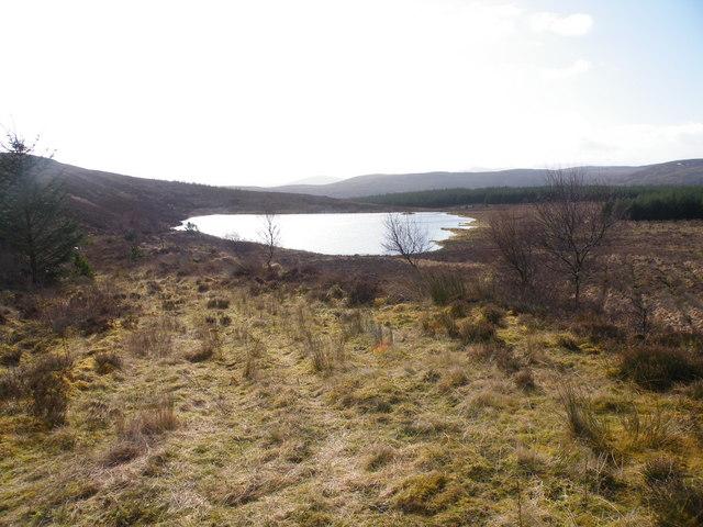 Loch Beinn Domhnaill from Track Junction