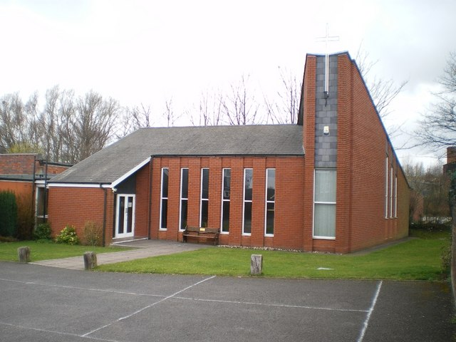 The church of St Stephen the Martyr in Willenhall
